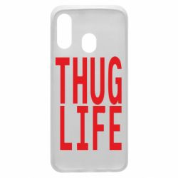 Чехол для Samsung A40 thug life