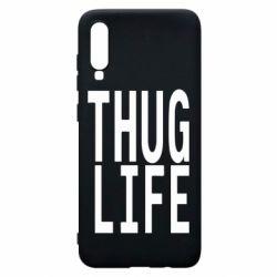 Чехол для Samsung A70 thug life