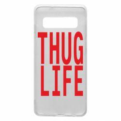 Чехол для Samsung S10 thug life