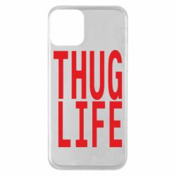 Чехол для iPhone 11 thug life