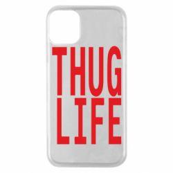 Чехол для iPhone 11 Pro thug life