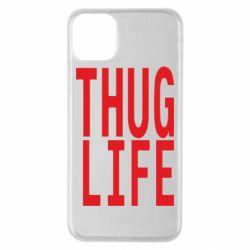 Чехол для iPhone 11 Pro Max thug life