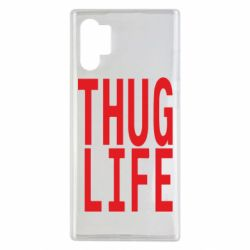 Чехол для Samsung Note 10 Plus thug life