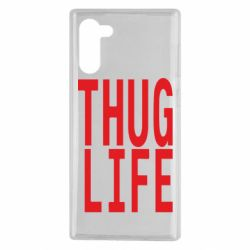 Чехол для Samsung Note 10 thug life