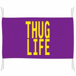 Флаг thug life