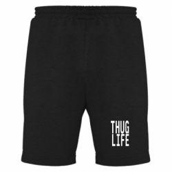 Мужские шорты thug life - FatLine