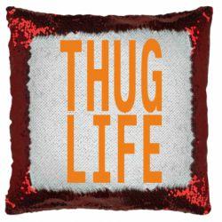 Подушка-хамелеон thug life