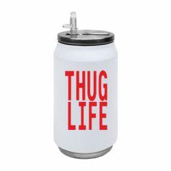 Термобанка 350ml thug life