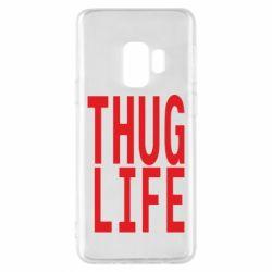 Чехол для Samsung S9 thug life