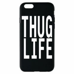 Чехол для iPhone 6/6S thug life