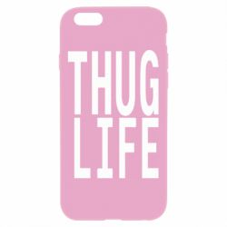 Чехол для iPhone 6 Plus/6S Plus thug life