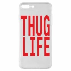 Чехол для iPhone 7 Plus thug life