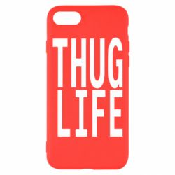 Чехол для iPhone 8 thug life