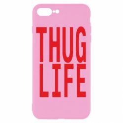 Чехол для iPhone 8 Plus thug life
