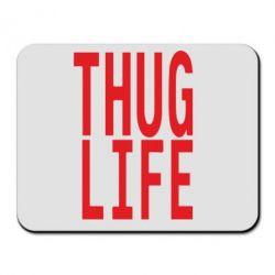 Килимок для миші thug life - FatLine