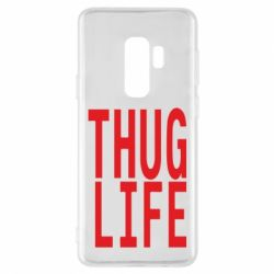 Чехол для Samsung S9+ thug life