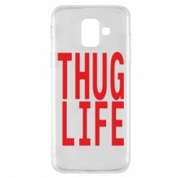 Чехол для Samsung A6 2018 thug life