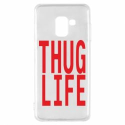 Чехол для Samsung A8 2018 thug life