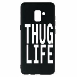 Чехол для Samsung A8+ 2018 thug life