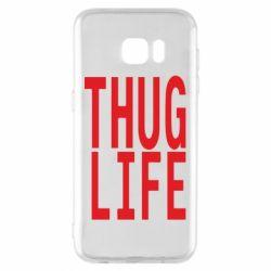 Чехол для Samsung S7 EDGE thug life