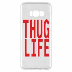 Чехол для Samsung S8 thug life