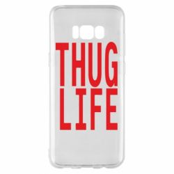 Чехол для Samsung S8+ thug life