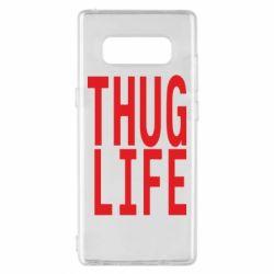 Чехол для Samsung Note 8 thug life