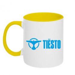 Кружка двухцветная 320ml Tiesto Logo 2