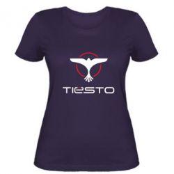 Женская футболка Tiesto Logo 3