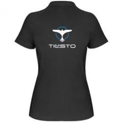 Женская футболка поло Tiesto Logo 3