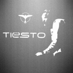 Наклейка Tiesto - FatLine