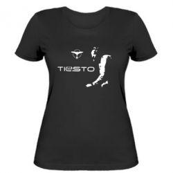 Жіноча футболка Tiesto - FatLine