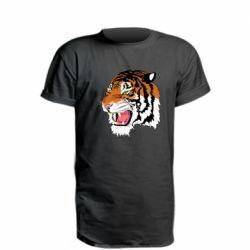 Подовжена футболка Tiger roars