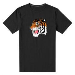 Чоловіча стрейчева футболка Tiger roars