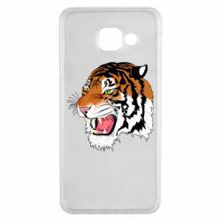 Чохол для Samsung A3 2016 Tiger roars