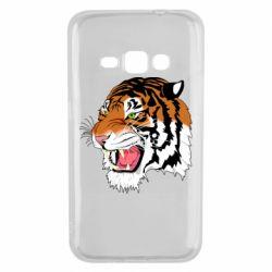 Чохол для Samsung J1 2016 Tiger roars