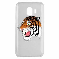 Чохол для Samsung J2 2018 Tiger roars