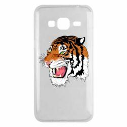 Чохол для Samsung J3 2016 Tiger roars