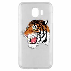Чохол для Samsung J4 Tiger roars