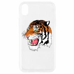 Чохол для iPhone XR Tiger roars