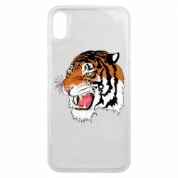 Чохол для iPhone Xs Max Tiger roars