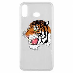 Чохол для Samsung A6s Tiger roars