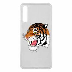 Чохол для Samsung A7 2018 Tiger roars