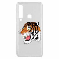 Чохол для Samsung A9 2018 Tiger roars