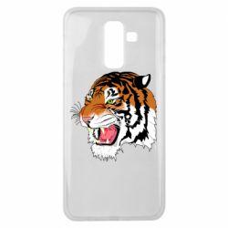 Чохол для Samsung J8 2018 Tiger roars