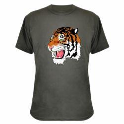 Камуфляжна футболка Tiger roars