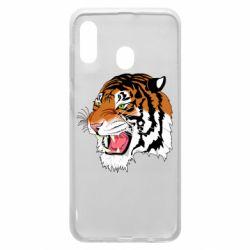 Чохол для Samsung A30 Tiger roars
