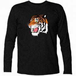 Футболка з довгим рукавом Tiger roars