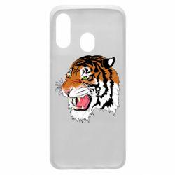 Чохол для Samsung A40 Tiger roars