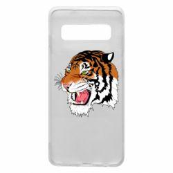 Чохол для Samsung S10 Tiger roars